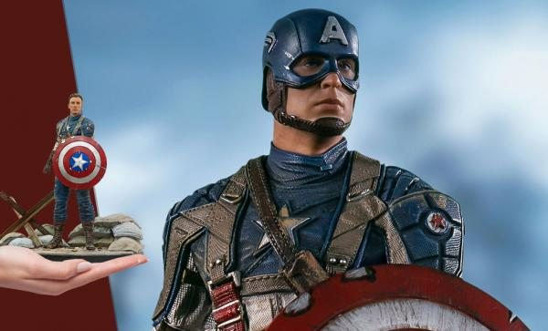 EXCLUSIVE Captain America: The First Avenger Statue by Iron Studios