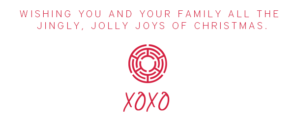 Wishing your family all the jingly, jolly joys of Christmas.