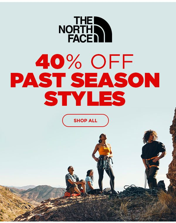 40% OFF Past Season Styles - Click to Shop All