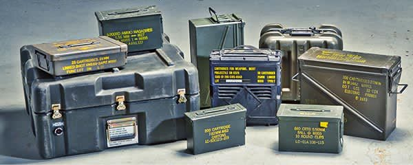 SAVE UP TO 55% | AMMO CANS & STORAGE