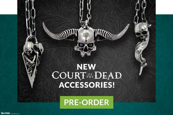 Court of the Dead Accessories