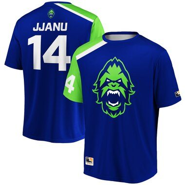JJANU Vancouver Titans Overwatch League Replica Home Jersey - Blue