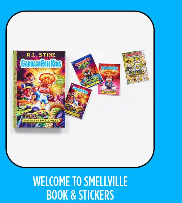 Welcome to Smellville - Book + Stickers