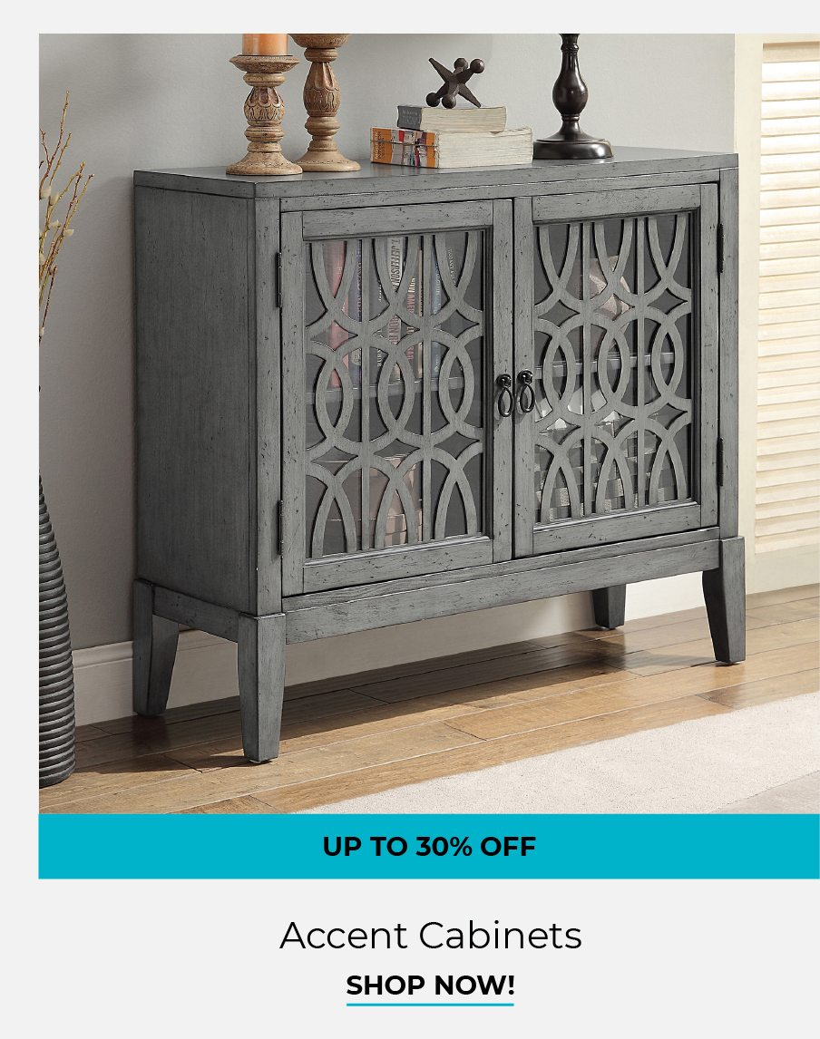 Accent Cabinets   Shop Now!