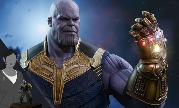 FREE U.S. SHIPPING Thanos Sixth Scale Figure by Hot Toys