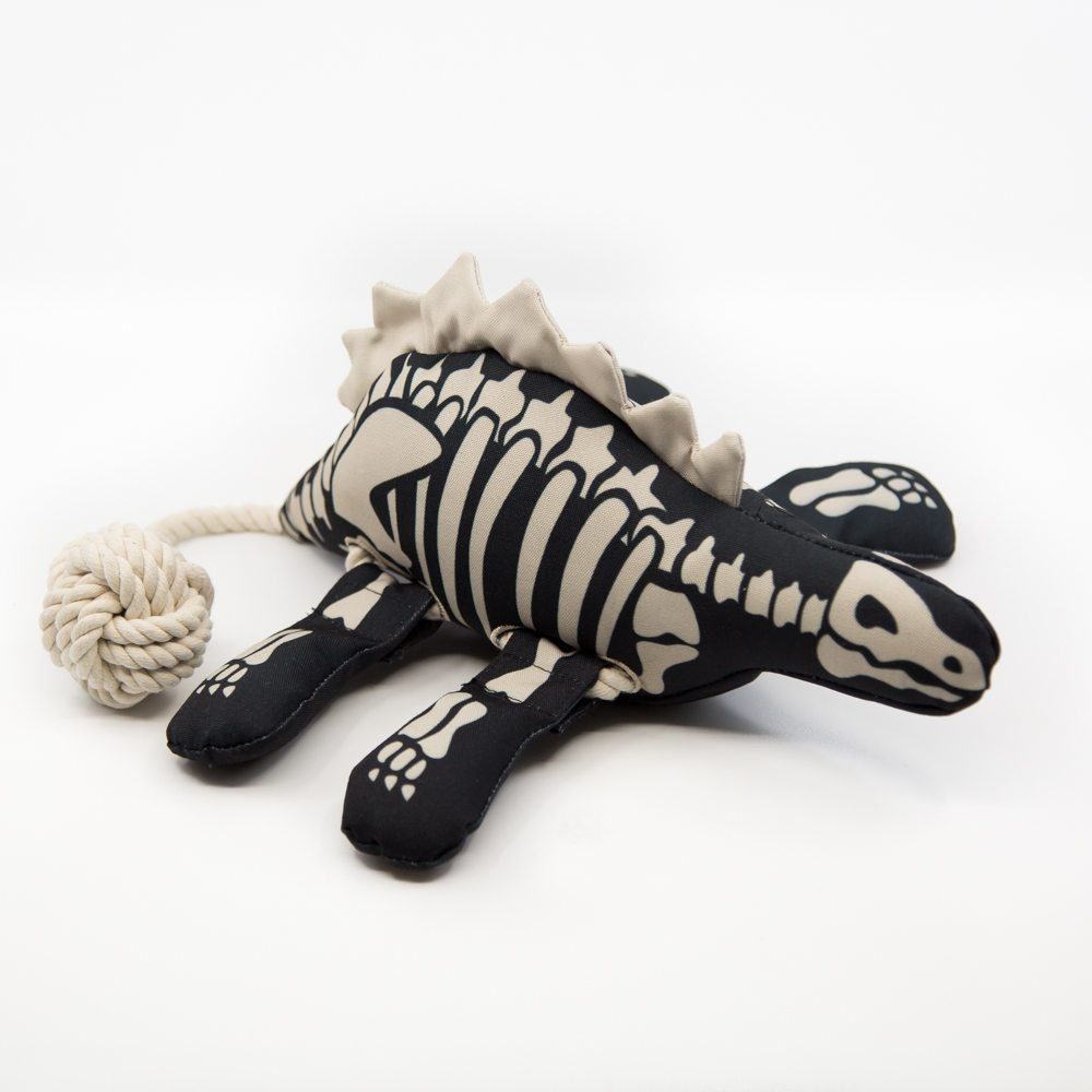 Image of Destroy-A-Saurus™ The Reattach-able Limbs Toy Your Dog Can Destroy Over And Over Again!