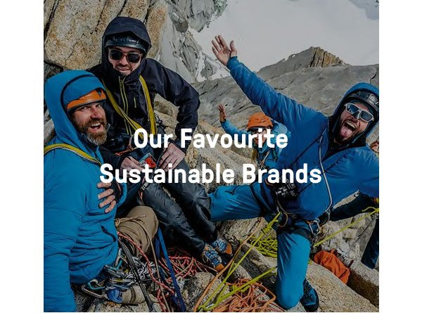 Our favourite sustainable brands