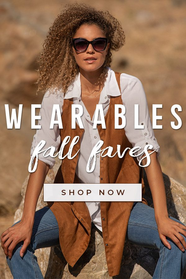 Shop Wearables Fall Faves»