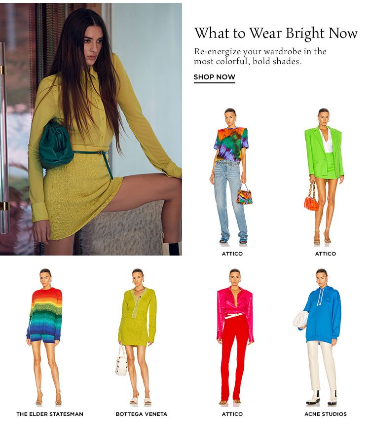What to Wear Bright now - Shop now