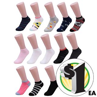 3-ct. Packs of Kids Fashion Socks