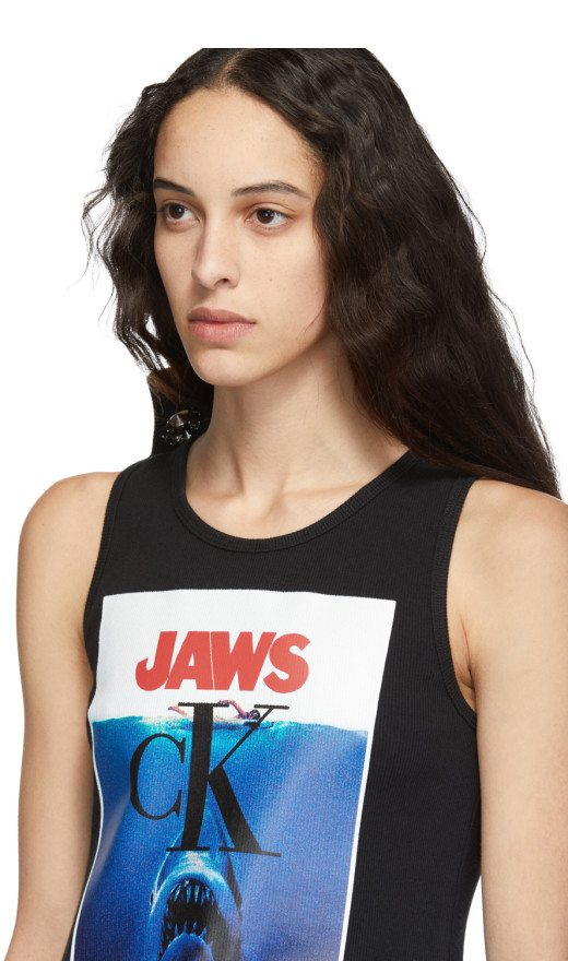 Calvin Klein 205W39NYC - Black Jaws Tank Top