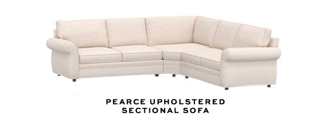 PEARCE UPHOLSTEREDSECTIONAL SOFA