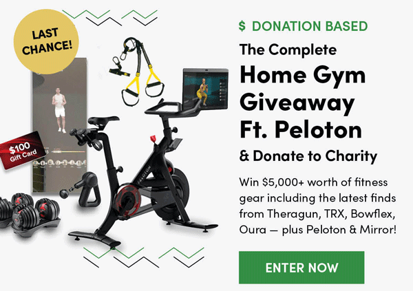 Complete Home Gym Giveaway | Enter Now