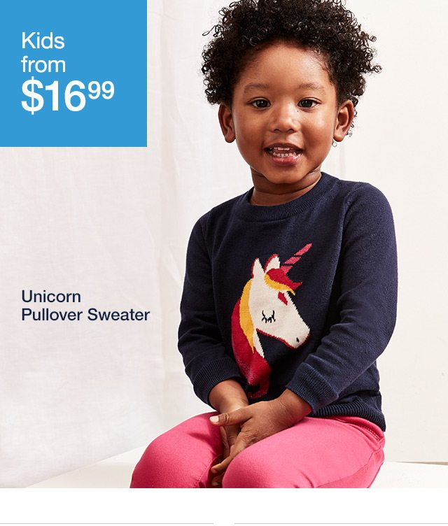 Unicorn Pullover Sweater