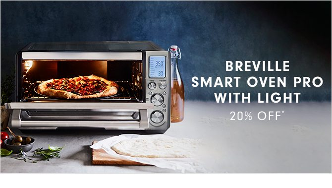 BREVILLE SMART OVEN PRO WITH LIGHT - 20% OFF*