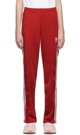 adidas Originals - Red Firebird Track Pants