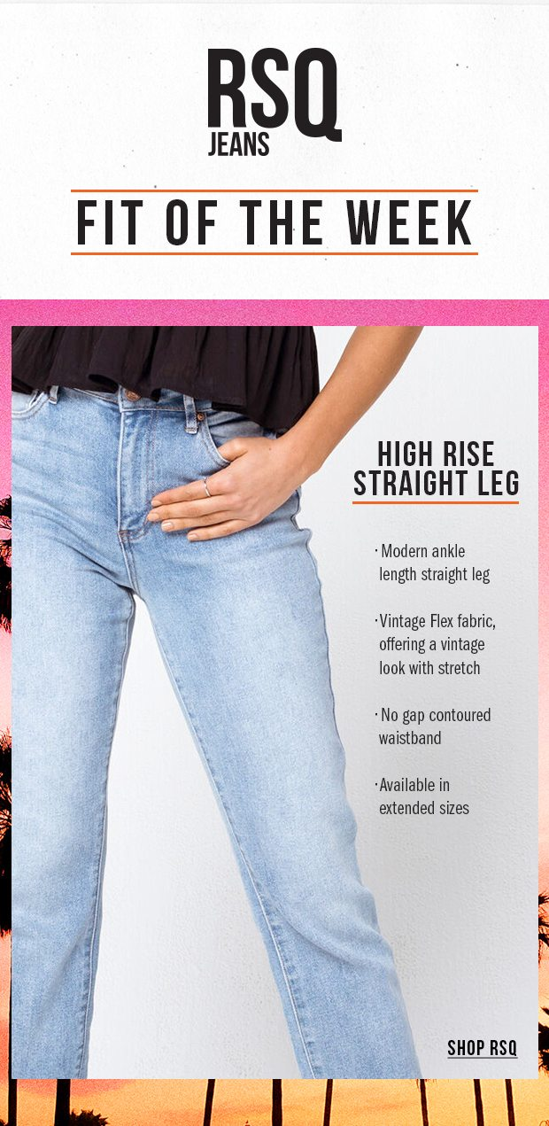 FIT OF THE WEEK - Shop Women's RSQ Jeans