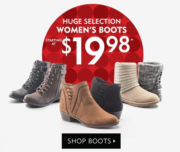Huge Selection Women's Boots