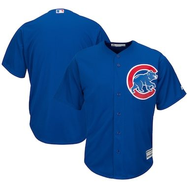 Majestic Chicago Cubs Royal Official Cool Base Jersey