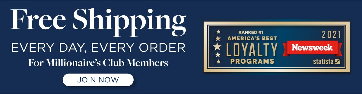 Members get free shipping