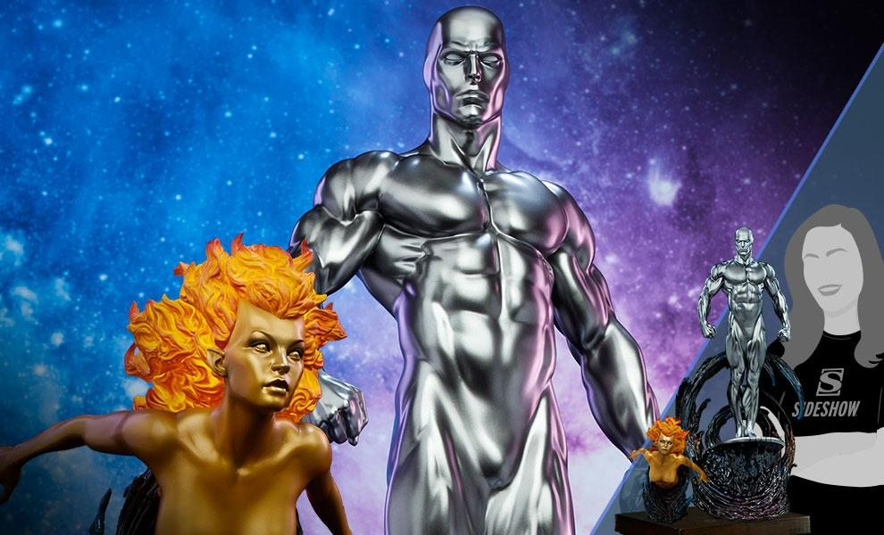 Exclusive Silver Surfer Maquette by Sideshow