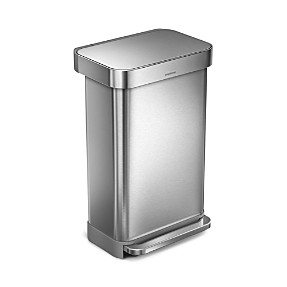 45L Rectangular Step Can with Liner Rim