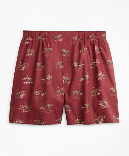Traditional Fit Hunting Print Boxers