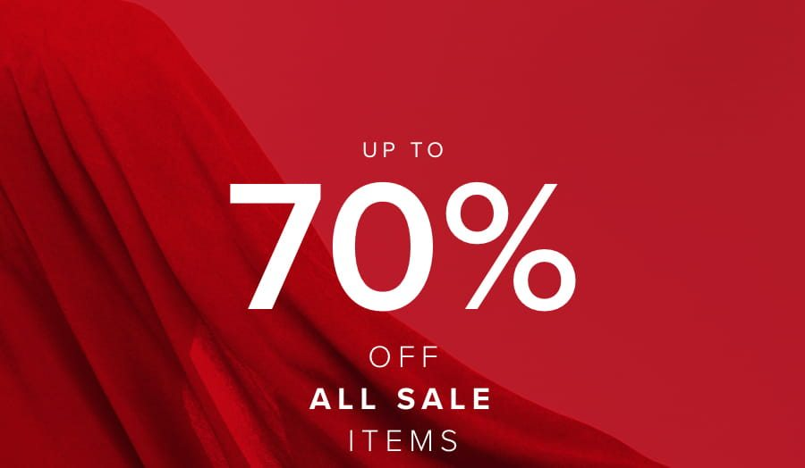 UP TO 70% OFF ALL SALE ITEMS | NEW LINES ADDED