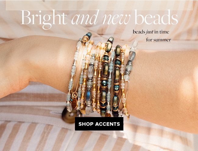 Shop beaded accents from ALEX AND ANI.