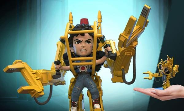 NOW SHIPPING Ripley Power Loader Q-Fig Elite Collectible Figure by Quantum Mechanix