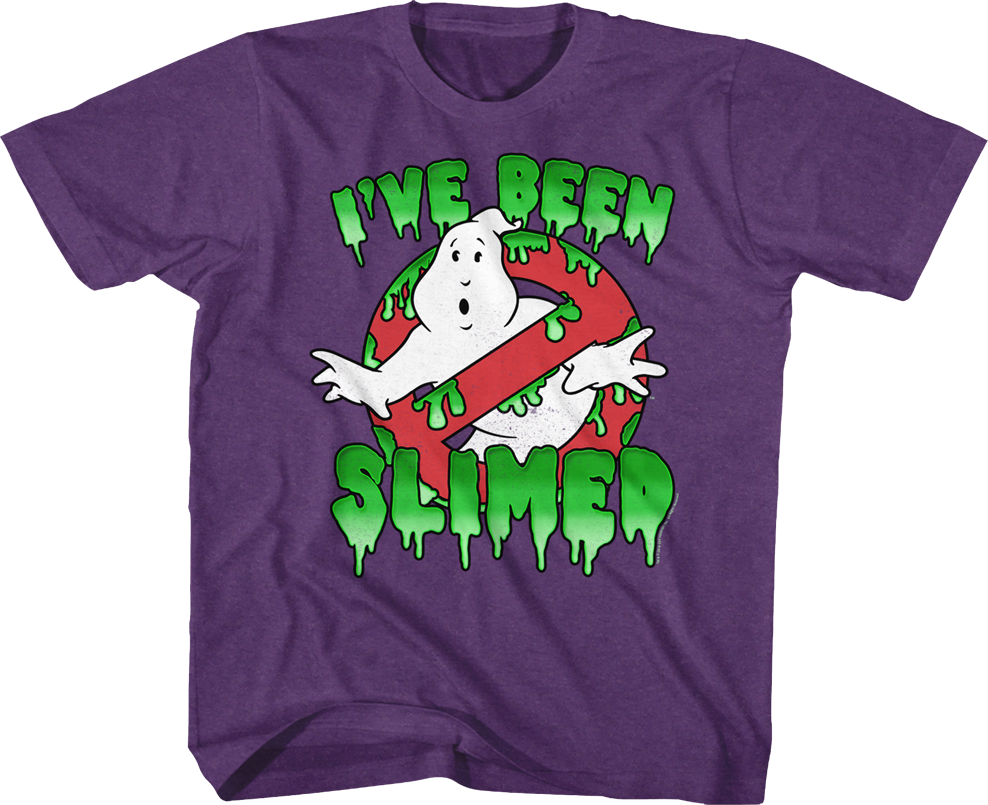 Kids I've Been Slimed Real Ghostbusters Shirt