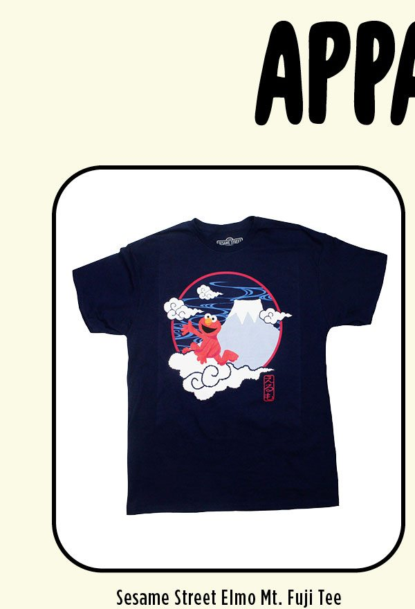 Elmo Mt. Fuji T-Shirt