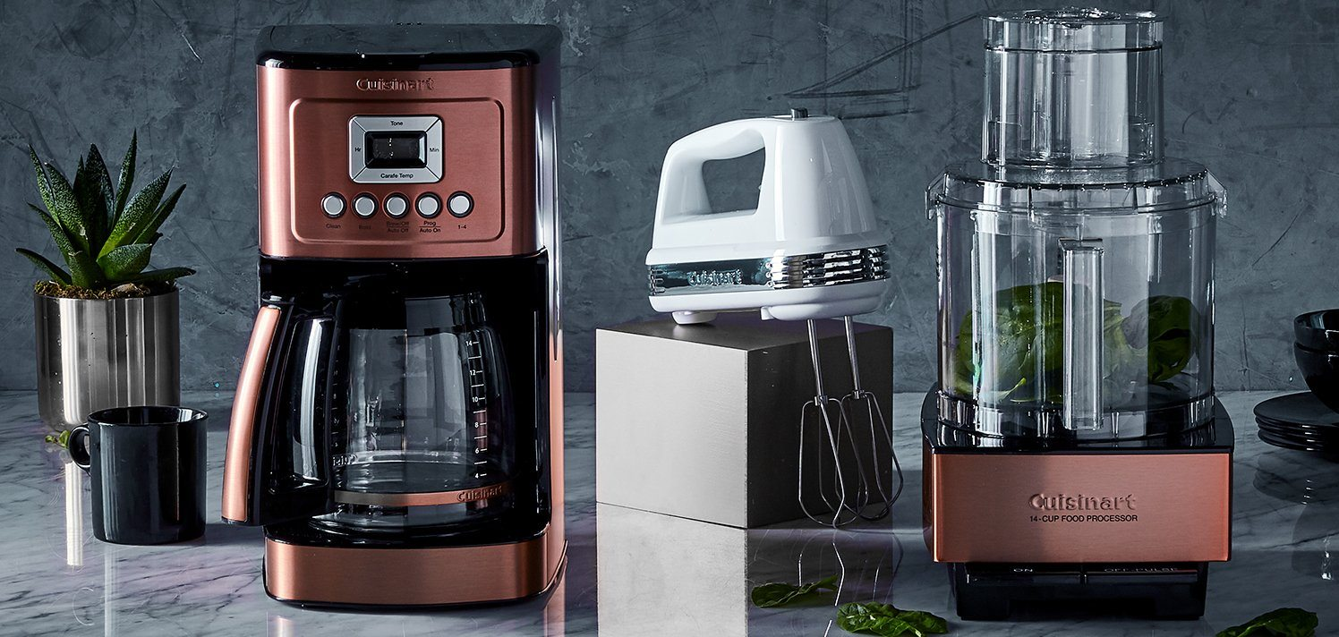 Cuisinart & More With New Styles