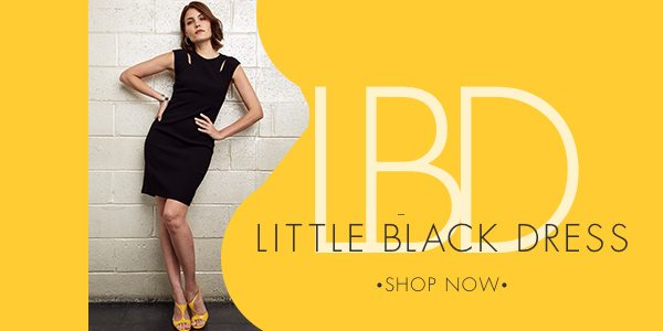 Little Black Dress - The essential LBD reimagined. Dress it down with sneakers or up with strapy heels.