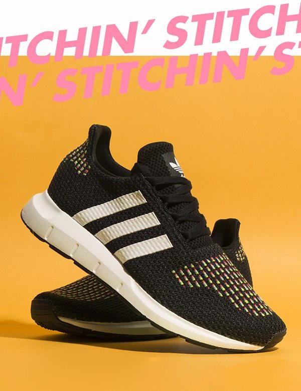 low priced c257b 17681 adidas-swift-run-black-and-white-trainers