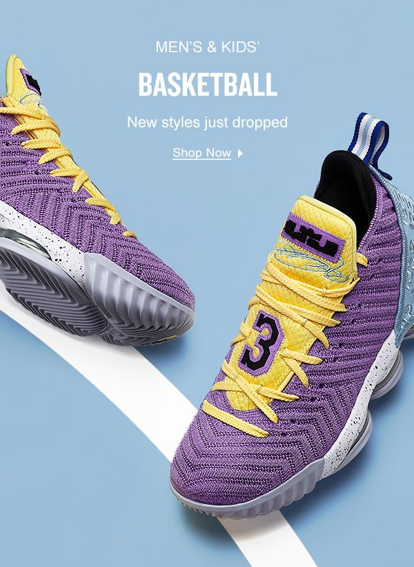 The newest Basketball Shoes are here