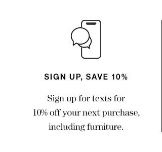 Sign up, save 10%