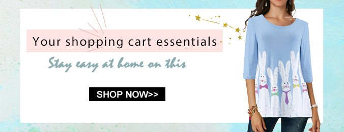 Your shopping cart essentials