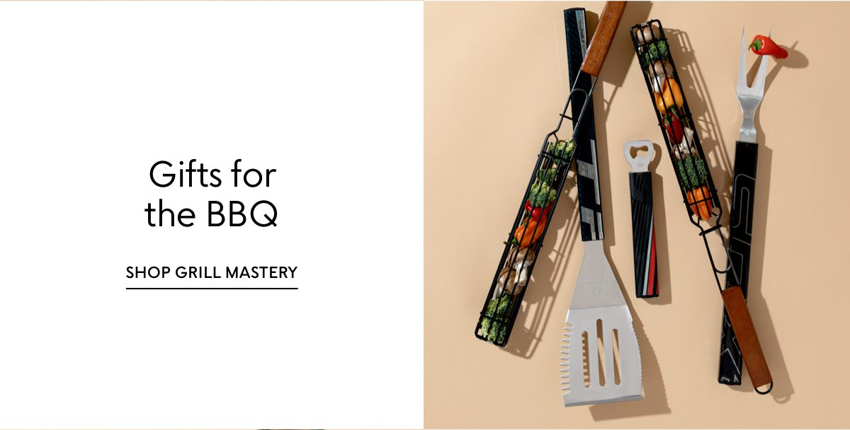 Shop our Father's Day gift guides: Gifts for the BBQ