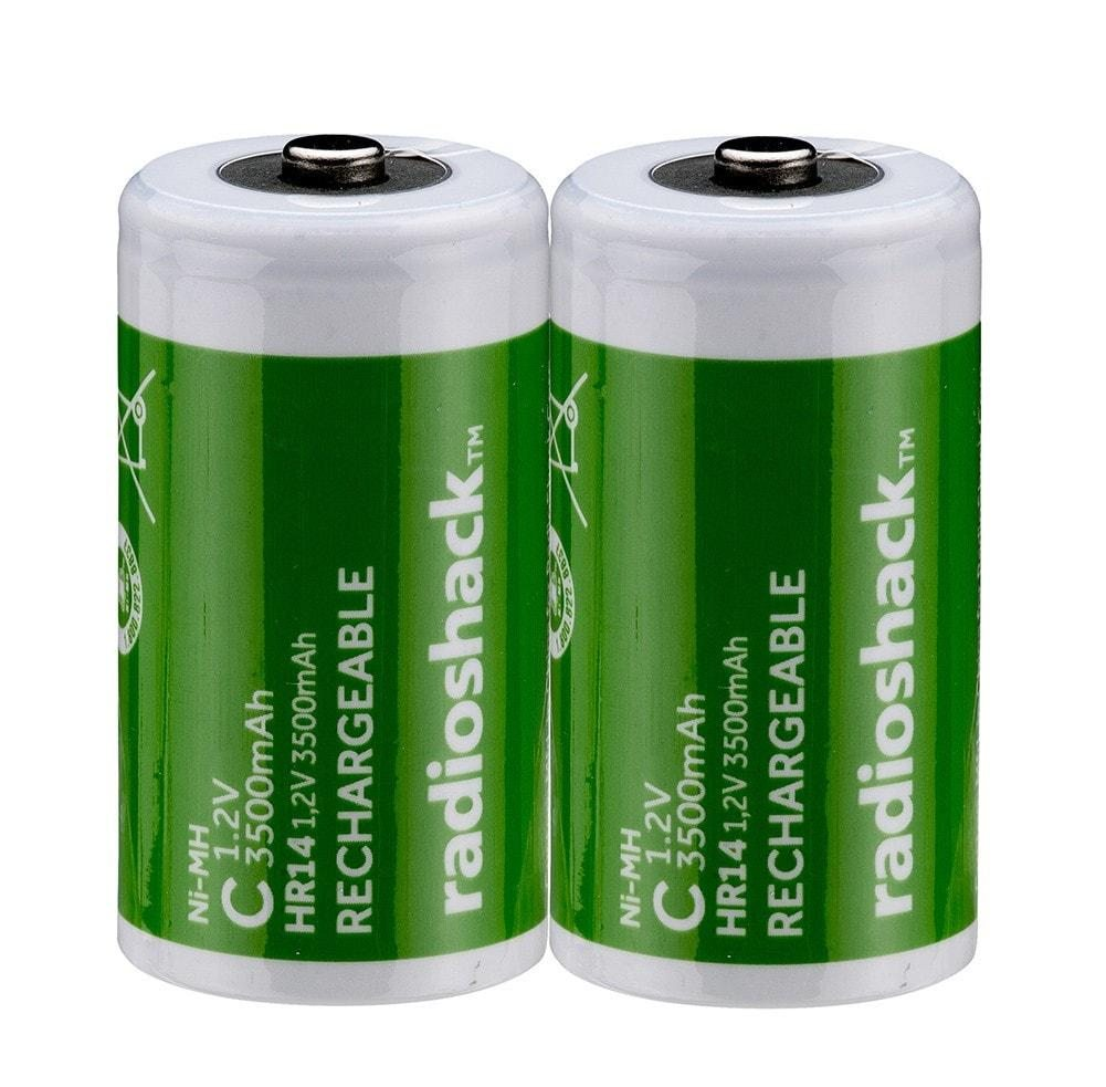 Image of C Rechargeable Batteries<br>(2-Pack)