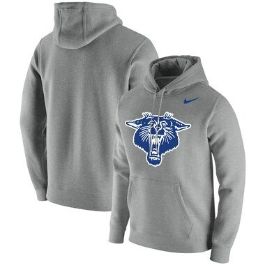 Kentucky Wildcats Nike Vintage Logo Club Fleece Pullover Hoodie - Heathered Gray