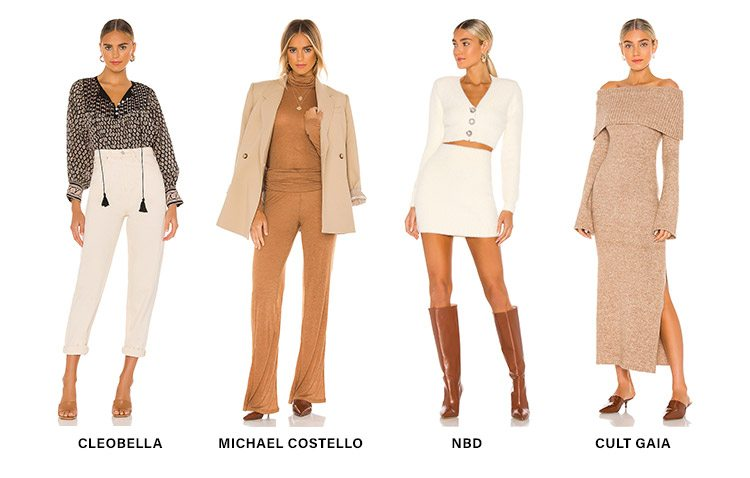 Trend Alert: Neutrals: Freshen up your fall wardrobe with the season's latest take on this forever favorite hue. Shop Now