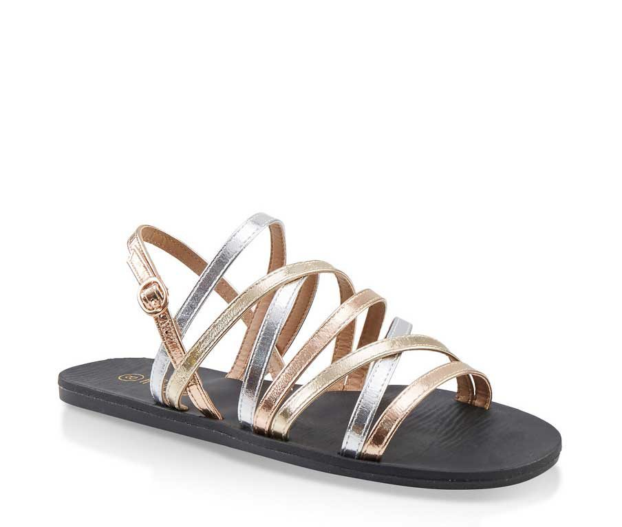 Strappy Criss Cross Sandals