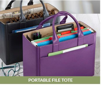 Shop the Portable File Tote!
