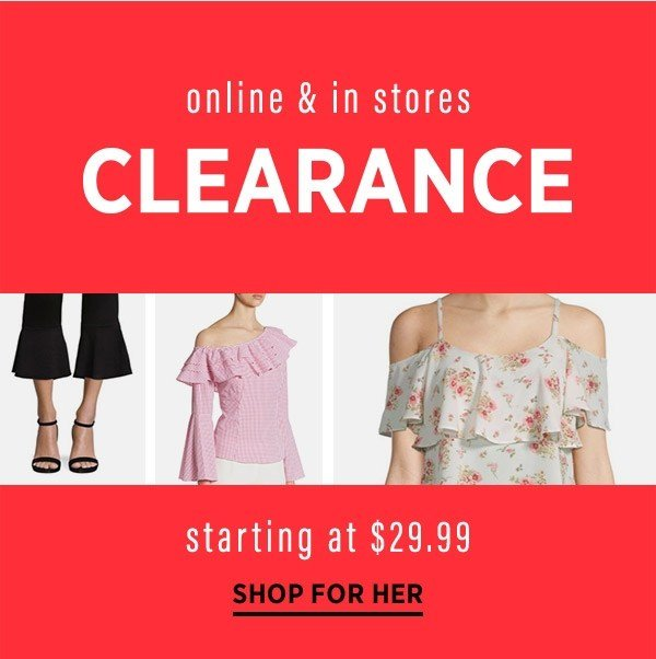 8901636ec1565 NEW clearance in EVERY category from $17.99 👍 + SPECIAL DELIVERY ...
