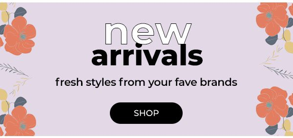 Shop New Arrivals - Turn on your images