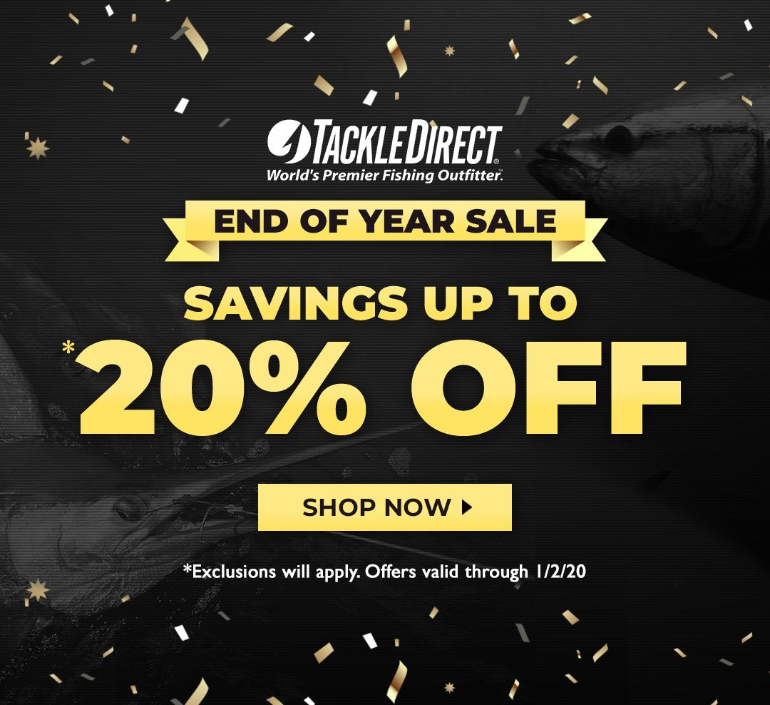 End of Year Sale Start Now!