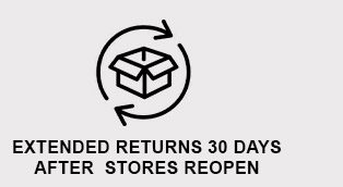 Extended Returns 30 Days After Stores Reopen