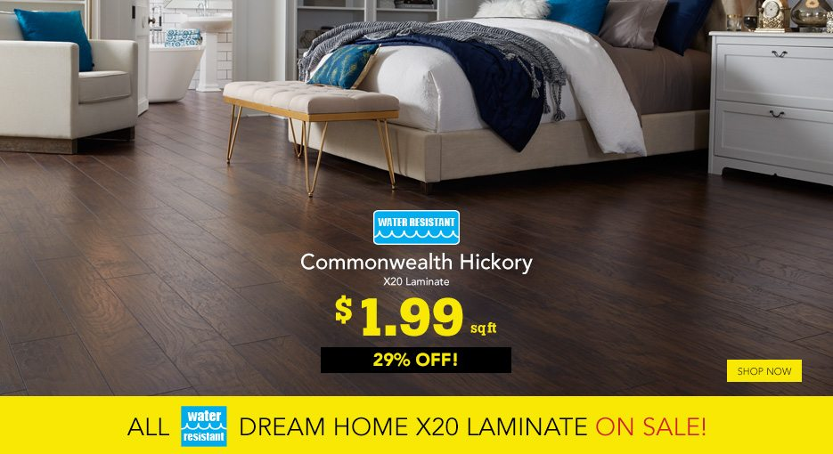 ALL water-resistant laminate is ON SALE! ➠ - Lumber
