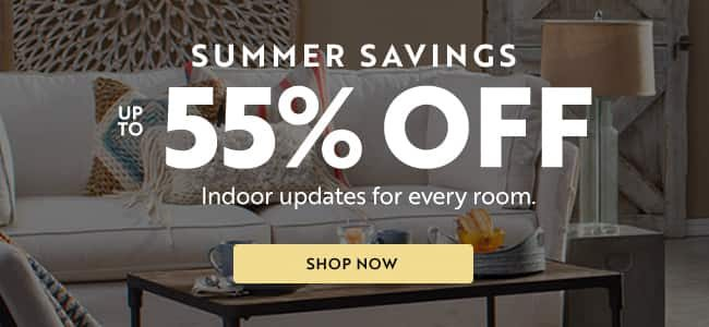 Summer Savings Up to 55% off | Shop Now